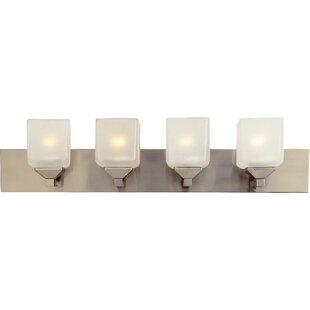 TransGlobe Lighting Contemporary 4-Light Bath Bar
