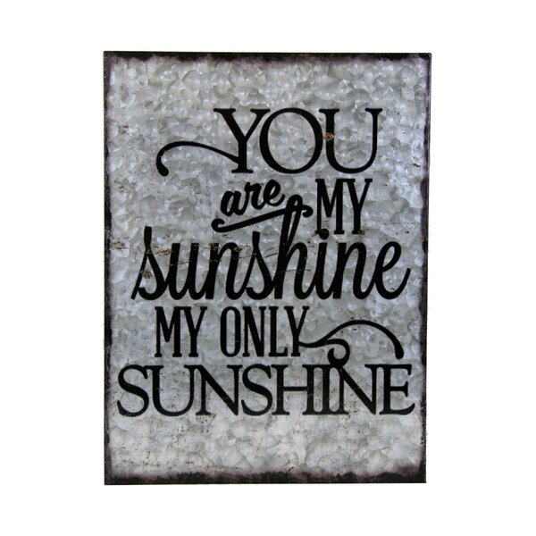 You Are My Sunshine Sign Wayfair
