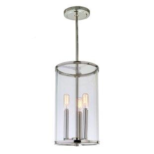 Ivy Bronx Gilford 3-Light Cylinder Pendant