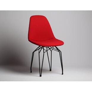 Nikolas Diamond Pop Upholstered Dining Chair Wrought Studio