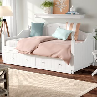 Bargain Pennrock Twin Daybed with Trundle by Beachcrest Home Reviews (2019) & Buyer's Guide