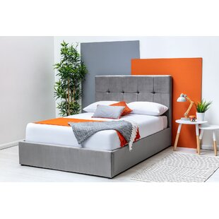 Keeney Kingsize (5') Upholstered Ottoman Bed With Mattress By Ebern Designs