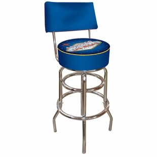 Las Vegas 31 Swivel Bar Stool Trademark Global