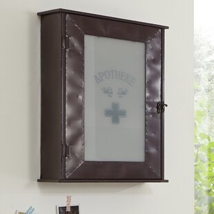 Garrett 43cm X 62cm Surface Mount Medicine Cabinet By Borough Wharf