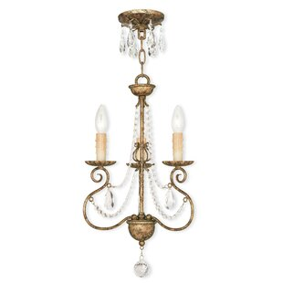 Astoria Grand Charley 3-Light Candle Styl..
