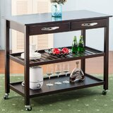 Rumaisa Kitchen Cart by Winston Porter