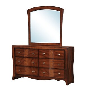 Darby Home Co Griswold 6 Drawer Double Dresser with Mirror Image