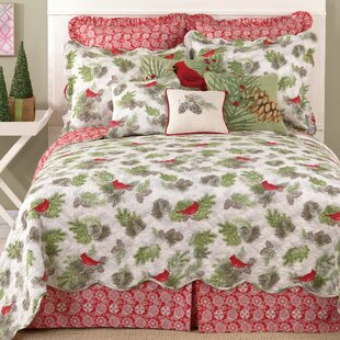 The Holiday Aisle Winter Bird Reversible Quilt