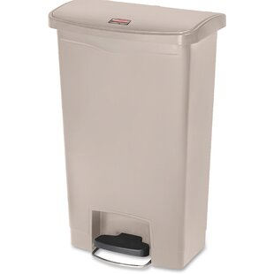 Rubbermaid Commercial Products Slim Jim 13 Gallon Step-On Trash Can