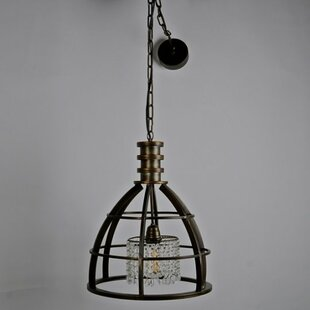 Ivy Bronx Halley Metal 1-Light Bell Pendant