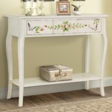 Sanger Hand-Painted Console Table by August Grove®