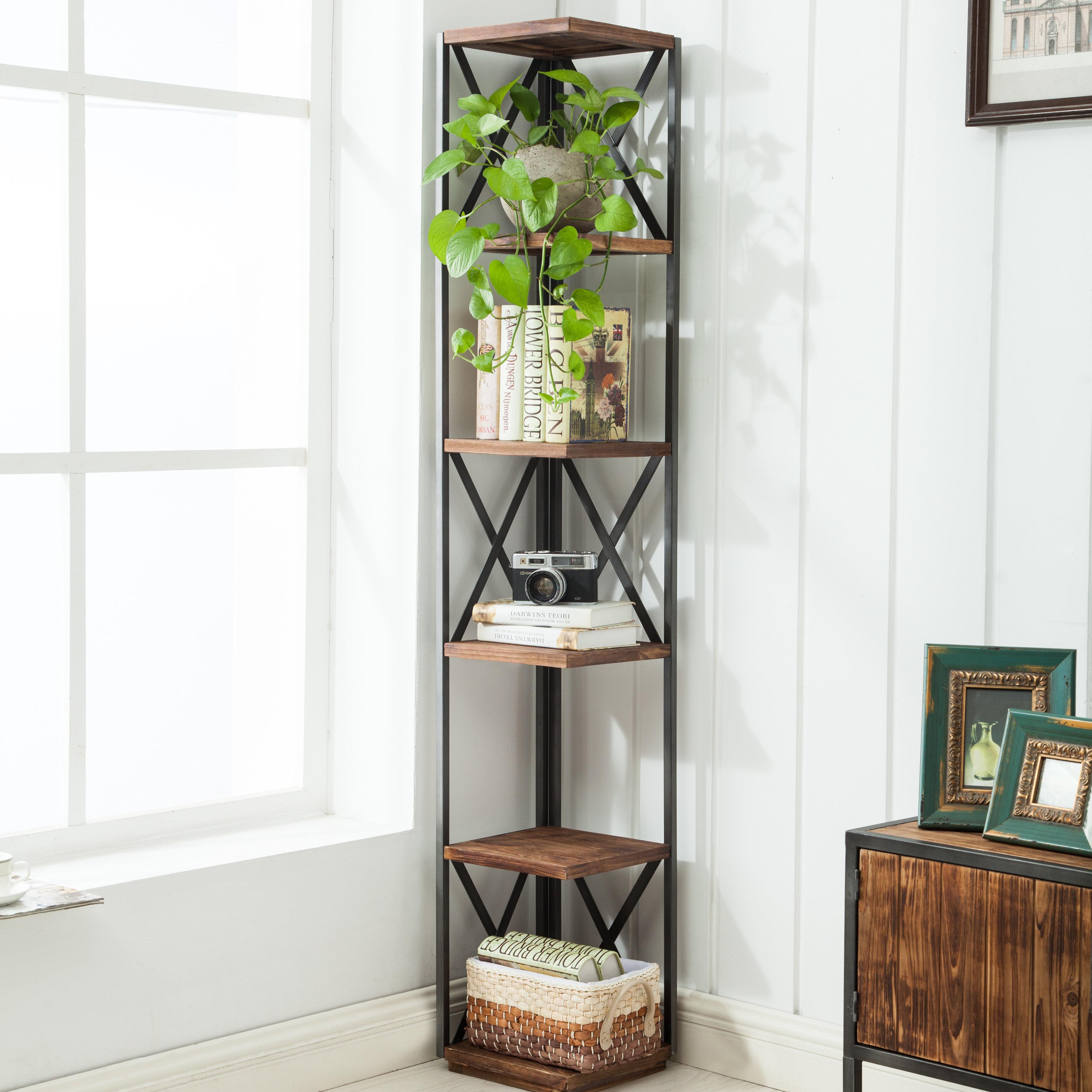 bookcases tower new cabinet shelf orginazer bookcase media rack stand multimedia itm cd dvd storage