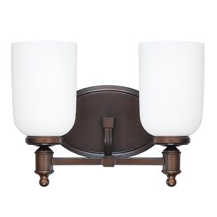 Laurel Foundry Modern Farmhouse Bonneau 2-Light Vanity Light