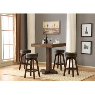 Guinness 5 Piece Pub Table Set ECI Furniture