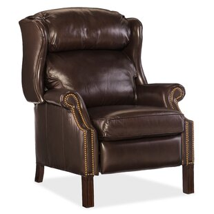 Sici Leather Manual Recliner b..
