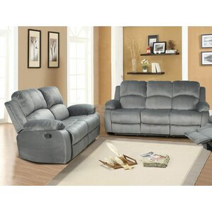 Beverly Fine Furniture Iseabail 2 Piece Living Room Set