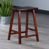 Maxime Fan Shape Bar & Counter Stool by Red Barrel Studio®