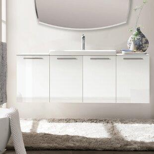 Cusack 55 Single Bathroom Vanity Set by Orren Ellis
