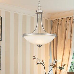 Beegle 3-Light Bowl Pendant by Fleur De Lis Living