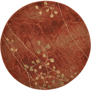 Consolata Crimson Area Rug by World Menagerie