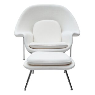 Corrigan Studio Abbate Lounge Chair and Ottoman