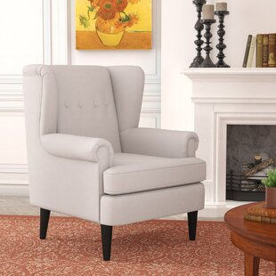 Christian Wingback Armchair by Alcott Hill