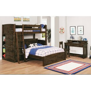 Look for Batista Twin Over Full L-Shaped Bunk Bed by Harriet Bee Reviews (2019) & Buyer's Guide