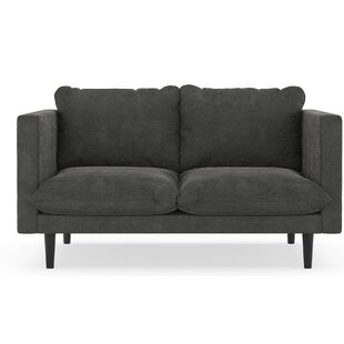 Foundry Select Courtemanche Micro Suede Loveseat