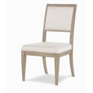 Amina Upholstered Wood Dining Chair (Set of 2) by One Allium Way