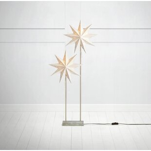 2 Light White/Grey Svan Lamp Image