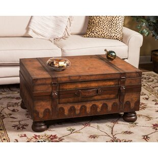 Buying Wiersma Coffee Table with Trunk By Loon Peak