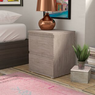 Read Reviews Karev 2 Drawer Nightstand By Zipcode Design