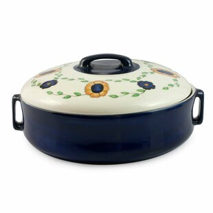 Round Non-Stick Casserole Bowl with Lid