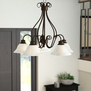 Ambrose 5-Light Shaded Chandelier by Darby Home Co
