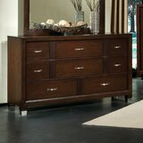 Sterling Dresser in Deep Brown Cherry by Standard Furniture