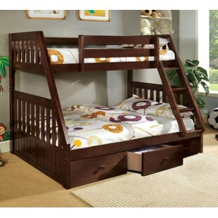 Twin over Full Bunk Bed with Underbed Storage by A&J Homes Studio