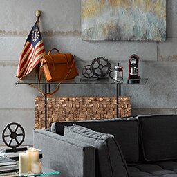 Union Rustic Maclin Console Table