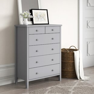 Tennessee 6 Drawer Chest By Marlow Home Co.