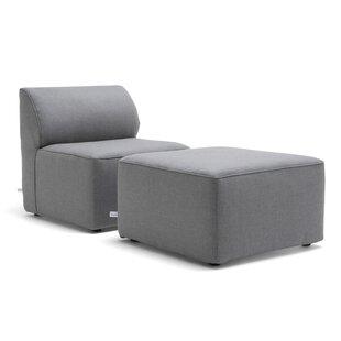 Comfort Research Big Joe Orahh Patio Sofa with Cushion