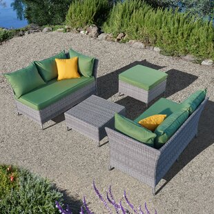 Gentile 4 Piece Sofa Set with Cushions By Ivy Bronx