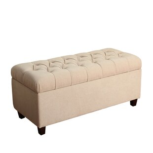 Three Posts Ranshaw Fabric Storage Bench