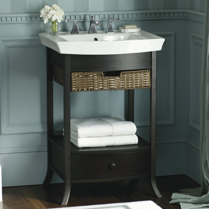 Pedestal For Bathroom Sink. Archer 24 Bathroom Sink