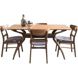 Yolanda 5 Piece Rectangular Dining Set