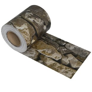 Vasilikos Stone PVC Fence Strip Roll By Sol 72 Outdoor