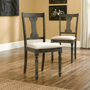 Brie Upholstered Dining Chair (Set of 2) by August Grove