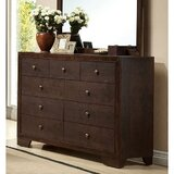 Tiburon 9 Drawer Double Dresser by Red Barrel Studio®