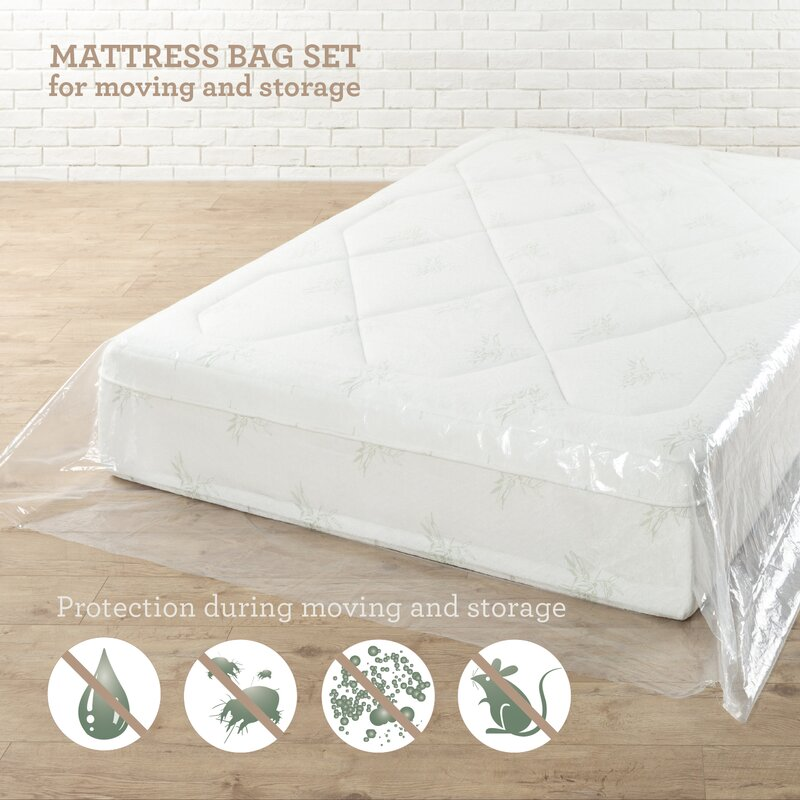 Moving and Storage Waterproof Mattress Protector  sc 1 st  Wayfair & Alwyn Home Moving and Storage Waterproof Mattress Protector ...
