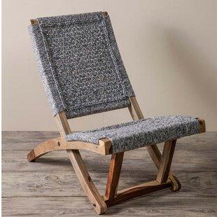 Bungalow Rose Adelphi Denim Patio Chair