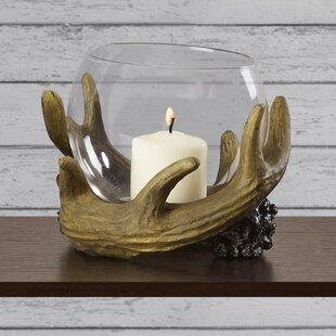 fac422166a1 Aurora Deer Horn Candle Holder