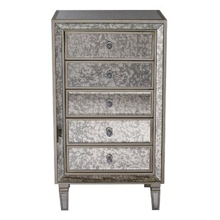 Deals Don 5 Drawer Accent Chest By Rosdorf Park
